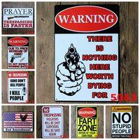regra de metal venda por atacado-Banheiro Cozinha Banheiro Regras Familiares Bar Pub Cafe Casa Restaurante Decoratio Vintage Aviso Placas De Lata Sinal De Lata De Metal Retro RRA1672