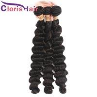 malaysian plus vague cheveux vierges achat en gros de-Supérieur réel Extensions cheveux dénoués humain vague profonde malaisienne Virgin Hair Bundles de catégorie Offres de 9A Plus vague cheveux Weave Tangle gratuit