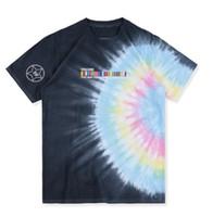 algodão scott venda por atacado-Travis Scott Astroworld T-shirt Dos Homens de Verão T Shirt Dos Homens de Manga Curta Casual Tops de Algodão T-shirt Dos Homens S-XL