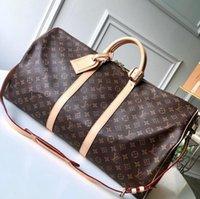 Wholesale chinese bag designers resale online - Luxury pochette tote womens clutch luggage handbags purses bag travel designer bags duffle borse firmate shoulder Vintage brand