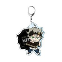 Wholesale Black Clover Action Figure Anime Acrylic Asta Yuno Noell Silva Yami Sukehiro Magna Swing Keychain Pendant Christmas Gifts cm