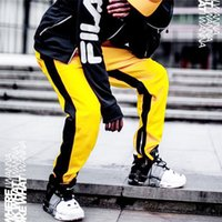брюки мужские оптовых-Случайные Мужские брюки уникальный хип-хоп гарем брюки качество верхней одежды спортивные штаны случайные мужские бегуны ТОП ЗДЕСЬ Мужские брюки
