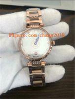 vente de bracelets diamant bleu achat en gros de-2019 vente chaude montres de luxe femmes montres à diamant cadran bleu mouvement à quartz or bracelets en acier inoxydable femmes montres pour femme ww507