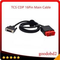 cable multidiag al por mayor-TCS CDP DS150 Cable principal de 16 pines LED Adecuado para escáner TCS CDP PRO Plus Cable automático 16pin Prueba Multidiag PRO