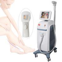 mejores tratamientos de depilación al por mayor-808nm diodo láser de depilación máquina mejor tratamiento de la cara del cuerpo de depilación láser de diodo láser Soprano