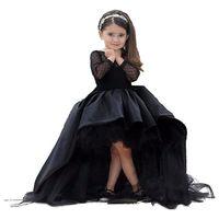 Kleid satin schwarz