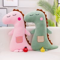Wholesale cute animals for sale - Dinosaur Plush Toys Stuffed Animal Pillow Cute Birthday Gift For Children Sofa Living Room Decoration Software fk3 F1