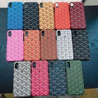 Wholesale colorful covers for phones online – custom Classic Fashion Brand Phone Case Protection Shell For iPhone X XS Max XR s plus Case Back Colorful Phone Back Cover Shell Designer
