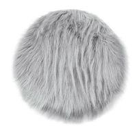 ingrosso tappeto tappeto vivente-New Soft Faux Fur Wool Divano del soggiorno Tappeto Peluche Tappeti Camera da letto Coprimaterasso Xmas Door Window Fashion Tappeti rotondi Tappeti