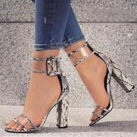 zapatos de mujer sexy stiletto al por mayor-Zapatos de vestir de diseñador 2019 Mujeres Verano T-stage Baile de moda Sandalias de tacón alto Sexy Stiletto Party Wedding Shoes Zapatos Mujer
