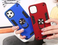 Wholesale play buttons for sale - Group buy 360 Rotatable Bracket PC TPU Metal Ring Case All Inclusive Button For Motorola Moto G8 G6 E5 Play Plus P40 Power One Action Hyper Macro