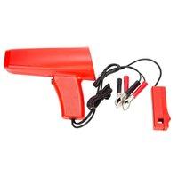 lampen tester großhandel-Motorzündung Induktives Zündlicht Kfz-Lampe Strobe Tester-Gun Zündblitz-Zündlicht / Lichtfrei Plug Tester