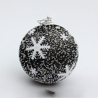 модные рождественские елки оптовых-Модный круглый Рождественская елка Болл партии Декор висячие мяч орнамент украшения для рождественских украшений подарка