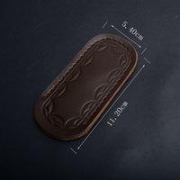 engranaje táctico de calidad al por mayor-Funda de cuero para Pocket Knife Flipper Tactical Cuchillos plegables Carpeta de alta calidad que acampa EDC Gear Paquete de regalo para cuchillos P716M R