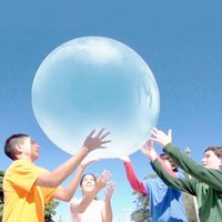 bolas azules para la venta al por mayor-Increíble Wubble Bubble Ball Globos Agua Inflable Airballoon Transparente Al Aire Libre Para Adultos Y Niños Juguetes Purple Blue Ventas Calientes 21ct2 C1