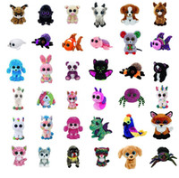 Wholesale big monkey dolls online - Ty Beanie Boos Toys Plush Stuffed Dolls cm Big Eyes Animals Soft Dolls for Kids Birthday Gifts ty toy GGA584