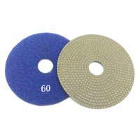 Wholesale marble polish diamond for sale - Group buy 3 quot inch mm Electroplated Diamond Polishing Pad Wet Dry Sandpaper for Glass Concrete Marble Stone Granite Sanding