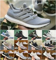 Wholesale high athletic running shoes for sale - Group buy High Quality Ultraboosts Uncaged Running Shoes Men Women Ultra Boosts III Primeknit Runs White Black Athletic Shoe Size