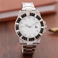 frauen armbanduhr marken großhandel-2019 reloj mujer top designer marke frauen diamant uhr minimalistischen kleid damenuhren gold uhr armbanduhren für frauen geschenk