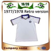 9500412edf21a 1977 1978 Leeds United Retro version Soccer jerseys 1997 Leeds Home white  ROOFE BAMFORD ALIOSKI JANSSON Soccer Shirt football uniform
