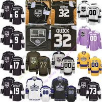 ingrosso youth hockey jersey-2019 Los Angeles Kings Jersey Alex Iafallo Ilya Kovalchuk TYLER TOFFOLI Jake Muzzin Kempe Martinez Luff Forbort Rob Blake Women Youth Cheap