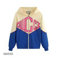 tasarım hoodie erkek toptan satış-Lüks Vintage tasarımcı hoodies Alfabe baskı Kazak Casual Kadın Erkek Kapşonlu Streetwear Üst Tasarım hoodies hırka ve kazak fermuar