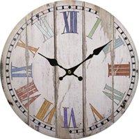 relógios de parede de 12 polegadas venda por atacado-Novo Relógio de Parede 3d Europeu Relógio de Parede Criativo Mudo Relógio Na Parede Decoração Para Casa 12 polegada para bar