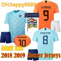 2018 19 netherlands Men Kits soccer jersey home orange 18 19 Holland  national team JERSEY memphis SNEIJDER V.Persie Dutch football shirts ab312c18a