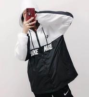 ingrosso cappello nero degli uomini-Cappotti da uomo cappotti da uomo cappotti sportivi MNK578-851919 bianco nero verde nero taglia: S M L XL XXL