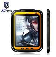 Wholesale rugged waterproof phones resale online - China Rugged tablet PC Phone IP67 Android Waterproof Shockproof Quad core quot Screen GB RAM GPS NFC mAH Big Battery
