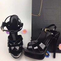 peles finas venda por atacado-Novos sapatos de salto alto das mulheres finas com água de vison cabelo sapatos de passarela sandálias de pele das mulheres moda fada vermelho F letter34-41