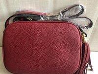 alça preta pu venda por atacado-Designer de luxo crossbody sacos de moda feminina vermelho rosa preto cinta bolsas de luxo com borla EMS free shopping