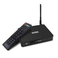 ingrosso dvb t2 smart tv box-Ultimo k7 android 9.0 TV Box Amlogic S905X2 Quad-core 4GB / 64GB DVB-S2 / DVB-T2 / DVB-C 2.4G / 5GWIFIBluetooth lettore multimediale intelligente