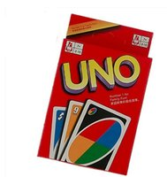 Wholesale uno game playing cards resale online - Top Sale UNO Card Puzzle Party Games Card Cards Family Board Game Fun Poker Playing Cards Funny Entertainment