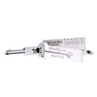 Wholesale lock opener kit resale online - Lishi DAT12R B54 in Decoder and Pick Car Door Lock Opener Kit Locksmith tools