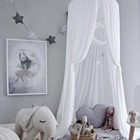 Wholesale kids bedding curtains resale online - Baby Kids Princess Bed Canopy Bedcover Mosquito Net Curtain Bedding Dome Tent Baby Girl Boy Mosquito Net