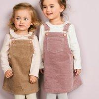 Wholesale baby cotton sundress for sale - Group buy Little maven kids brand clothes autumn baby girls clothes Cotton sundress toddler girl sleeveless pocket dresses V191115