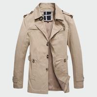 koreanische jacken verkaufen großhandel-Mode Dünne herren Jacken Heißer Verkauf Freizeitkleidung Korean Comfort Windjacke Herbst Mantel Notwendig Frühling Männer Mantel M-3XL ML097 T5190617