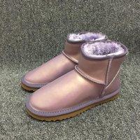 ingrosso vendita di stivali di marca-Stivaletti da neve da donna fashion designer di vendite calde Stivaletti da esterno invernali caldi stile australiano impermeabile Marca Ivg Taglia unisex US3-14