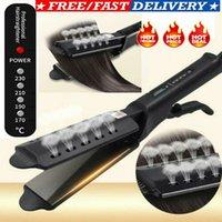 ingrosso raddrizzatore tormalina-Professionale per lisciare i capelli Tourmaline ionico di ceramica Flat Iron Salon Glider