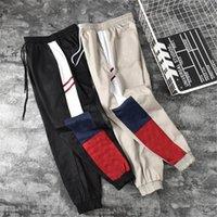 marcas streetwear para mulheres venda por atacado-Esporte Marca Corredores Pants Mulheres Designer Sport calças de Streetwear dos homens Mens Designer carga Pant Hip Hip Casual Pant Calças Tamanho S-2XL