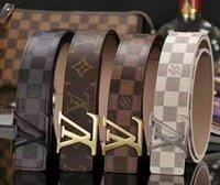 jeans de hombre 28 32 al por mayor-2019 Nueva moda de diseño de alta calidad para hombre, pantalones vaqueros, cinturones, cinturones Cummerbund, para hombres de negocios, cinturones, cinturones, hebilla de metal
