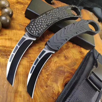Wholesale d2 knife steel for sale - Group buy BM Karambit automatic bird claw knife D2 blade aluminum handle double action outdoor cold steel camping EDC survival AUTO knife A07 C07 A161