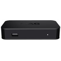 Wholesale set top boxes for sale - Group buy MAG322 w1 build in wifi Latest Linux OS Set Top Box MAG HEVC H Box Smart Media Player