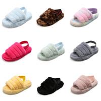 Wholesale barefoot shoes for women resale online - Kids Slippers Summer Boys Beach Leather Children Cork Slippers For Family Shoes Barefoot Flats Girls Slipper Summer Slippers
