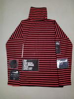 одежда больших размеров оптовых-Хип-хоп толстовки для мужчин женщин Big Bang G-Dragon полосатый балахон пары толстовка Марка дизайнер зимний свитер зима уличная одежда Одежда