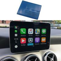 adaptateur diagnostic vag achat en gros de-Pour Mercedes benz NTG5 S2 via OBD W205 Classe C / W253 Classe GLC carplay pour iPhone / Android Activation automatique outil Accessoires voiture