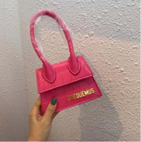 Wholesale faux leather tote bags women for sale - Group buy Tote Purses and Handbags Designer Jacquemus Mini Crossbody Bags For Women High Quality Leather Shoulder Bag sac main femme
