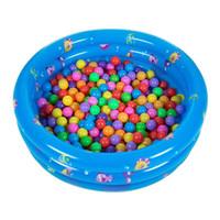 çocuklar havuzları toptan satış-Şişme Bebek Yüzme Havuzu Piscina Taşınabilir Açık Çocuklar Deniz Topu Havuzu Havzası Küvet Çocuk Bebek Çocuklar Için Yüzme MMA1963
