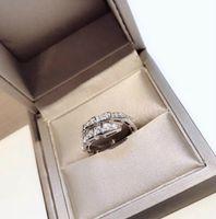 925 ringe einstellbar großhandel-Designer Serpenti Serie Diamond CZ Ring Damen 925er Sterlingsilber schmale Schlangenöffnung verstellbare intelligente Ringe